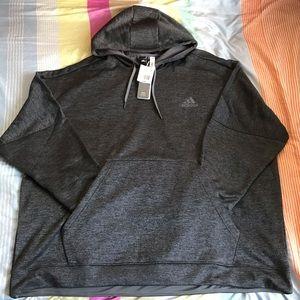 Adidas Men's Team Issue Fleece PO Hoodie